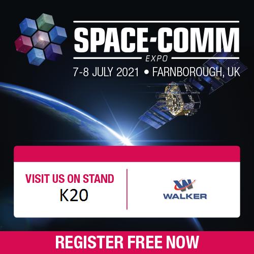 Walker Attending Space-Comm Expo